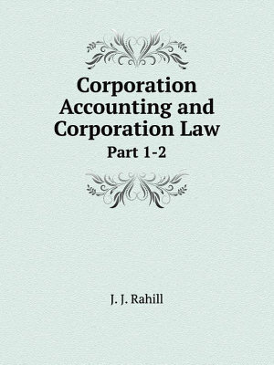 Corporation Accounting and Corporation Law PDF