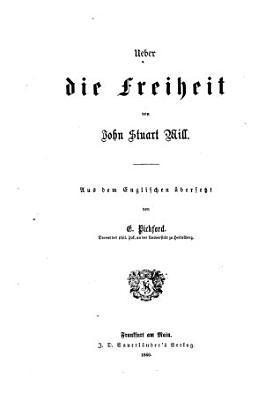 Ueber die Freiheit PDF
