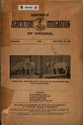 Bulletin - Virginia Department of Agriculture and Immigration: Issue 108
