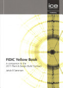 Fidic Yellow Book