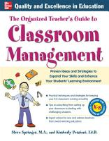 The Organized Teacher s Guide to Classroom Management PDF