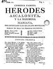 Comedia famosa, Herodes Ascalonita y la hermosa Mariana