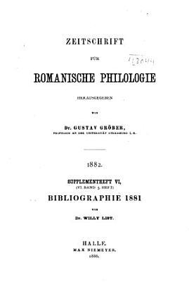 Bibliographie romane PDF