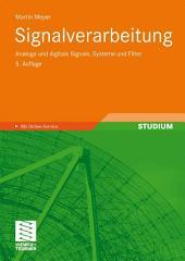 Signalverarbeitung: Analoge und digitale Signale, Systeme und Filter, Ausgabe 5