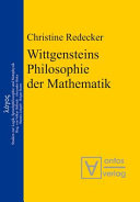 Wittgensteins Philosophie der Mathematik PDF