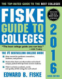 Fiske Guide to Colleges 2016 Book