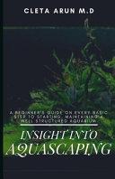 Insight Into Aquascaping PDF