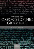 The Oxford Gothic Grammar PDF
