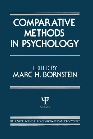 Comparative Methods in Psychology
