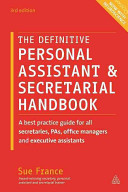 The Definitive Personal Assistant   Secretarial Handbook PDF