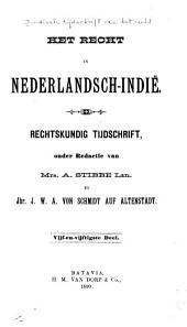 Indisch tijdschrift van het recht: orgaan der Nederlandsch-Indische juristen-vereeniging, Deel 55