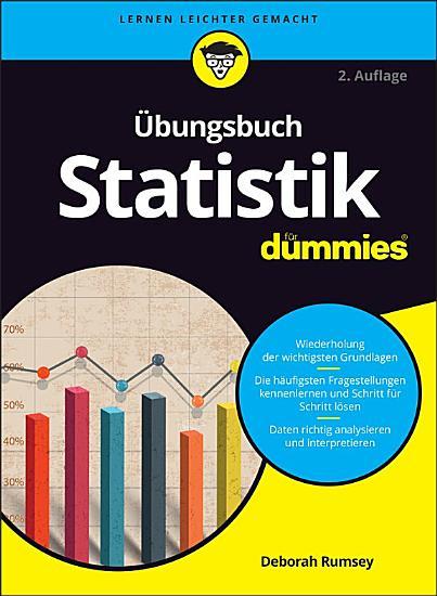 bungsbuch Statistik f  r Dummies PDF