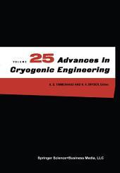 Advances in Cryogenic Engineering: Volume 35