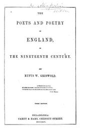 The Poets and Poetry of England: In the Nineteenth Century
