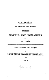 Letters and Works: Volume 1