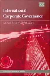International Corporate Governance: A Case Study Approach