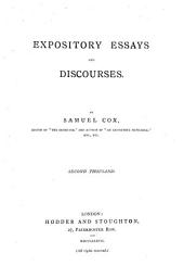 Expository Essays and Discourses