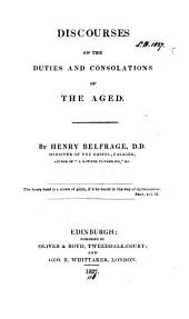 Discourses on the duties and consolations of the aged