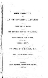 A Brief Narrative of an Unsuccessful Attempt to Reach Repulse Bay ... in the Year 1824