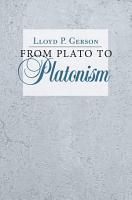 From Plato to Platonism PDF