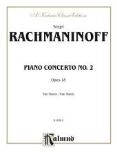 Piano Concerto No. 2 in C Minor, Opus 18: Piano Duet (2 Pianos, 4 Hands)