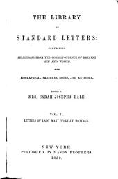 The letters of Lady Mary Wortley Montagu