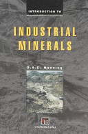Introduction to Industrial Minerals PDF