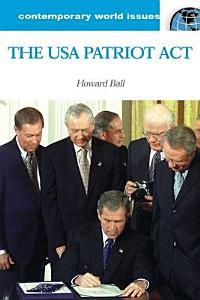 U S A  Patriot Act of 2001 Book