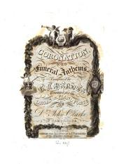 Coronation and Funeral Anthems: Volume 2
