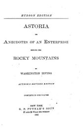 Irving's Works: Astoria