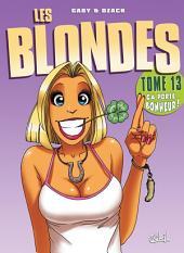 Les Blondes T13: ça porte bonheur !