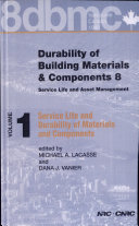 Durability of Building Materials and Components 8: Service life and durability of materials and components