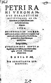 Institutionum Dialecticarum libri duo