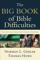 The Big Book of Bible Difficulties PDF