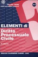 Elementi di diritto processuale civile