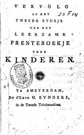Het leerzame prenteboekje voor kinderen: Vervolg of het tweede stukje