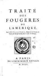 Tractatus de filicibus Americanis. Authore r.p. Carolo Plumier ...