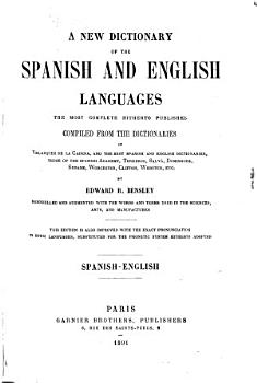 New dictionary of the Spanish and English languages PDF