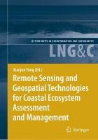 Remote Sensing and Geospatial Technologies for Coastal Ecosystem Assessment and Management PDF