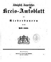 Königlich-Bayerisches Kreis-Amtsblatt von Niederbayern: 1862