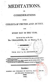 Meditations or considerations upon Christian truths and duties, for every day of the year