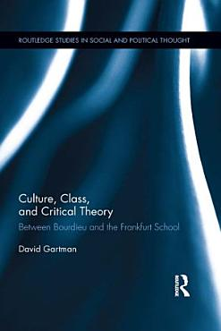 Culture  Class  and Critical Theory PDF
