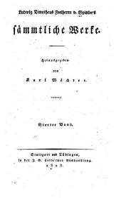 Ludwig Timotheus Freiherrn v. Spittler's Sämmtliche Werke