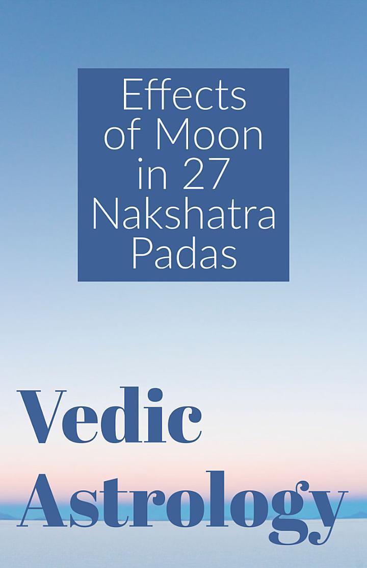 Effects of Moon in 27 Nakshatra Padas