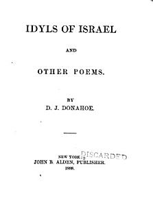 Idyls of Israel and Other Poems PDF