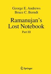 Ramanujan's Lost Notebook: Part 3