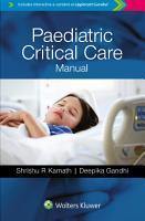 Paediatric Critical Care Manual PDF