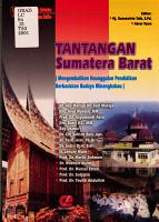 Tantangan Sumatera Barat PDF