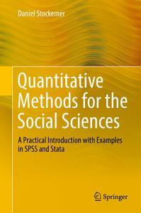 Quantitative Methods for the Social Sciences Book
