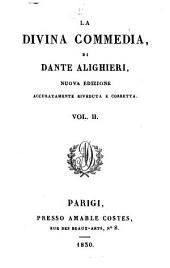 La divina commedia: Del Purgatorio, Volume 2